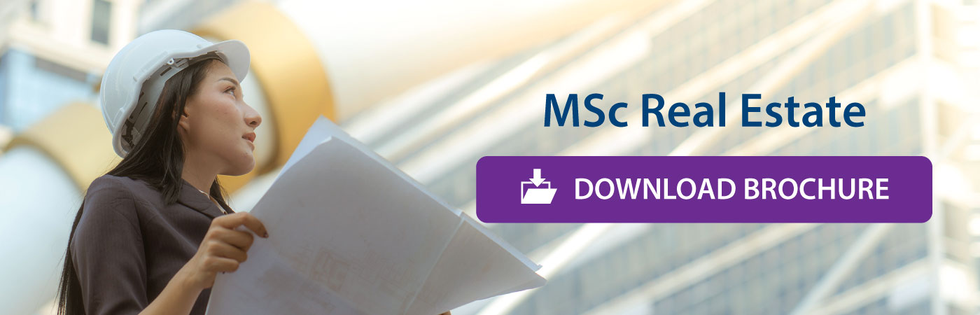 Msc Real Estate Download Brochure